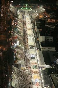 Sambódromo do Rio: obra de concreto revolucionou o carnaval