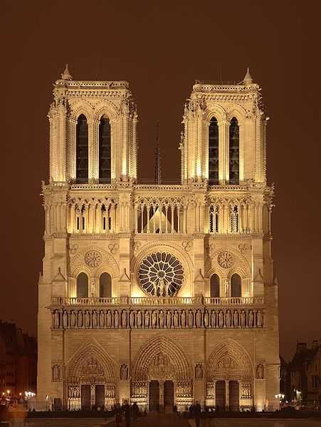 A catedral de Notre Dame, em Paris, da Idade Média aos dias de hoje.