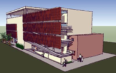 Projeto Schola: construção opta pelo pré-moldado e troca escadas por rampas