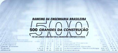 O ranking da engenharia brasileira já é, há décadas, a bíblia do setor