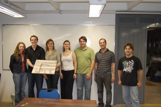 Grupo Vencedor Concurso Ousadia