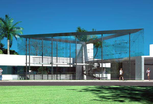 Projeto do prédio sustentável da UFPR