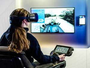 Tecnologia 5G permite monitoramento em tempo real de trabalhadores e máquinas em operação no canteiro de obras Crédito: Banco de Imagens